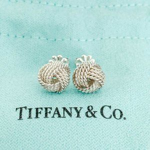 Tiffany & Co. | Twist Knot Stud Earrings 925